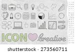 icons  graphics  drawing on the ... | Shutterstock .eps vector #273560711
