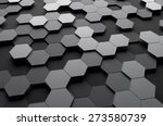 abstract 3d rendering of... | Shutterstock . vector #273580739