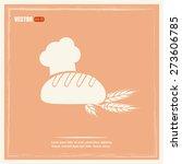 bakery graphic design   vector... | Shutterstock .eps vector #273606785