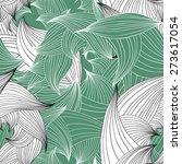 vector seamless pattern of... | Shutterstock .eps vector #273617054