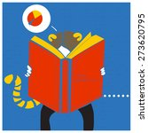 reading book | Shutterstock . vector #273620795