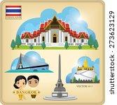 vector thailand bangkok...   Shutterstock .eps vector #273623129