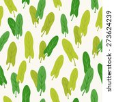 seamless pattern with sorrel.... | Shutterstock .eps vector #273624239