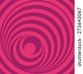pink op art circles    Shutterstock .eps vector #273643067