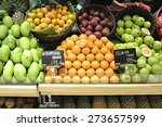 close up of various fruits in a ... | Shutterstock . vector #273657599