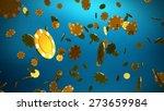 the 3d rendering of many casino ... | Shutterstock . vector #273659984