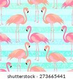 tropical  exotic  hawaiian... | Shutterstock .eps vector #273665441