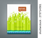 annual report environment... | Shutterstock .eps vector #273714581