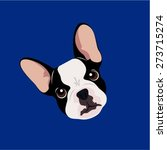 french bulldog   illustrations... | Shutterstock .eps vector #273715274