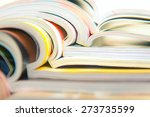 Small photo of Stack of magazines