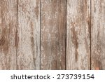 Old Brown Wood Background With...