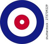 curling house  | Shutterstock .eps vector #273739229