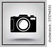 photo camera sign icon  vector... | Shutterstock .eps vector #273746531