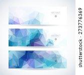 blue vector template for mobile ... | Shutterstock .eps vector #273776369