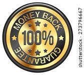 money back guarantee | Shutterstock . vector #273796667