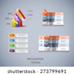 set of vector design elements... | Shutterstock .eps vector #273799691
