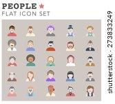 people diversity portrait... | Shutterstock .eps vector #273833249
