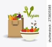 food design over white... | Shutterstock .eps vector #273835385