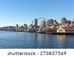 a view on seattle downtown from ... | Shutterstock . vector #273837569