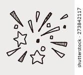 doodle firework | Shutterstock .eps vector #273842117
