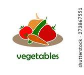 vegetables | Shutterstock .eps vector #273867551