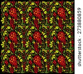 seamless pattern in style of... | Shutterstock .eps vector #273880859