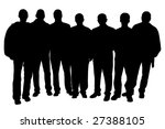 group of people | Shutterstock . vector #27388105