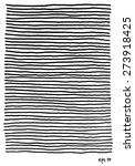 vector set of hand drawn lines. ... | Shutterstock .eps vector #273918425