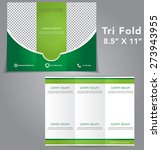 tri fold brochure vector design | Shutterstock .eps vector #273943955