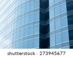 office glass windows with... | Shutterstock . vector #273945677