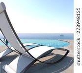 sun loungers inviting to... | Shutterstock . vector #273948125