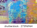 abstract background drawn by... | Shutterstock . vector #27396964