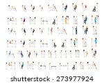 medical staff and patients... | Shutterstock .eps vector #273977924