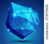 contemporary plastic pixel... | Shutterstock . vector #273979634
