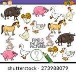cartoon vector illustration of... | Shutterstock .eps vector #273988079