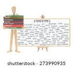 Small photo of Mannequin school books: Stereotype Dry Erase Board on Easel (Nerd, Cutter, Metrosexual, Wall Flower, Geek, Pothead, Snob, Thug, Ghetto, Outcast, Acid Head, Social Deviant, Tranny, Artsy, Skater)