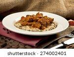 Turkish Food Eggplant And Meat...