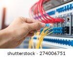 hand of administrator holding... | Shutterstock . vector #274006751