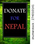 Donate For Nepal  Message On...