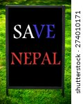Save  Nepal  Message On...