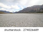 Immense Gravel Bed Of The Rive...