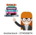 e learning design over white... | Shutterstock .eps vector #274030874