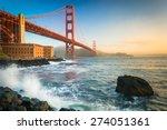 The Golden Gate Bridge  Seen At ...