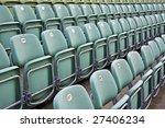 rows of seats in bregenz open...   Shutterstock . vector #27406234