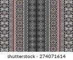 tribal ethnic pattern...   Shutterstock .eps vector #274071614