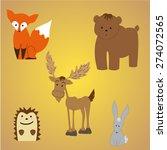 funny animals | Shutterstock .eps vector #274072565