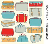 vector collection of vintage... | Shutterstock .eps vector #274112921