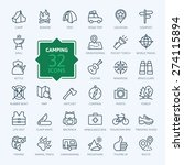 outline icon set   summer...