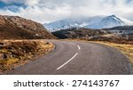 Road To Assynt In Scottish...
