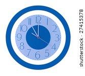 eleven o'clock   Shutterstock . vector #27415378